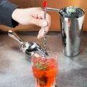 Bar Spoon Red Knob