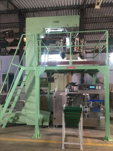 Pick & Place Pre Made Pouch Machine