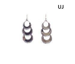 Women Party Oxodised Silver Earring