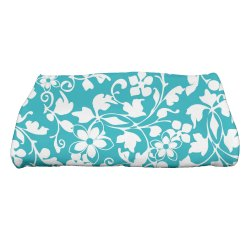 Floral Printed Bath Towel