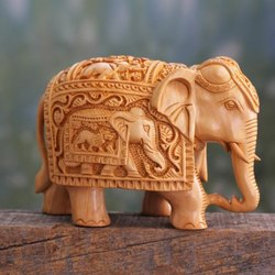 2d194ceb60e5 Sandalwood Carving Figures Elephant at Rs 6000  piece(s)