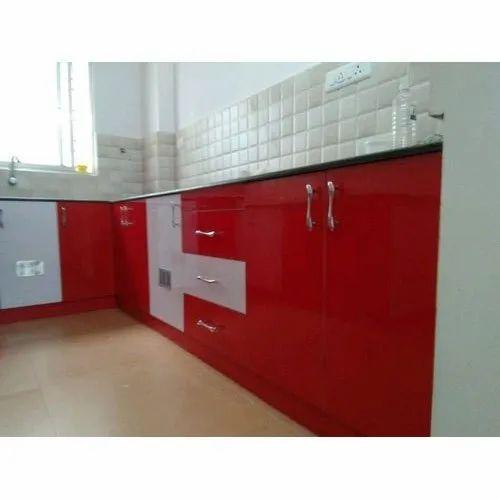 Per Sqft Pvc Kitchen Cabinet Rs 210 Square Feet Swathi Interior Id 20952249312