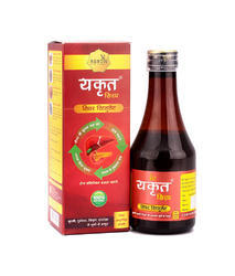 Ayurvedic Yakrat Liver Cure Syrup, Packaging: 200 mL