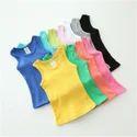 0-16 Years Girls Sleeveless T-shirt