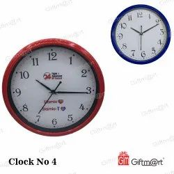Analog Round Promotional Wall Clock, For Office Or Home