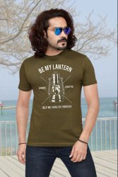 INDIAN RIDER Half Sleeves MEN'S COTTON PRINTED T-SHIRT, Size: S to XXL