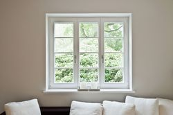UPVC Hinged Fix Window for Domestic Use, Frame Thickness: 10 to 70 mm