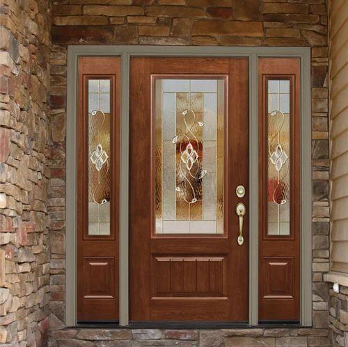 Wooden glass door ply panel doors ply wood door sharda wooden glass door planetlyrics Images
