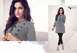 Embroidered Lady Ethnic Shirt