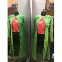 Ladies Party Wear Kurti With Long Jacket