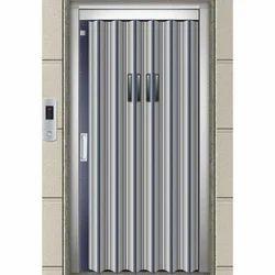 Imperforated Elevator Door