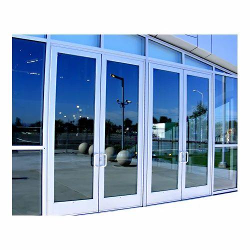 Glass Aluminium Door At Rs 220 Square Feet Aluminium Glass Door
