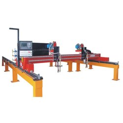 NC Flame Plasma Cutting Machine