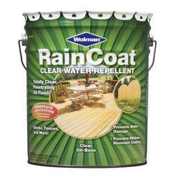 WOLMAN RainCoat Oil-Based One Coat Clear Sealer - Semi-Gloss