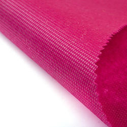Pink Laminated Non Woven Fabric Matte