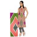 Multi Color Bandhani Suit