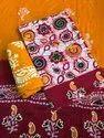 Batik Printed Ladies Dress Material