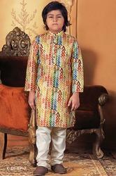 Kids Kurta Payjama in Multi Colour