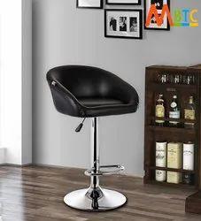 MBTC Judith Office Bar Stool Chair in Black