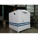 Steel White Prefab Portable Cabin