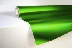 Green Matte Chrome Car Wrap Vinyl Roll