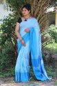 Party Wear Linen Saree