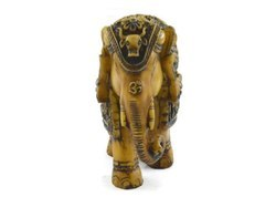 Handmade Antique Resin Elephant Figurine