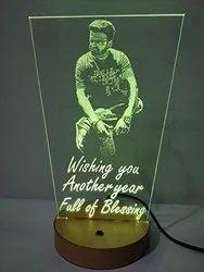 Gift 3D Illusion LED Lamp, Shape: Linear, 6 W - 10 W