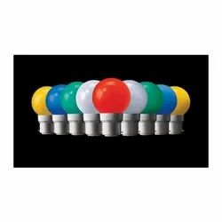 12 W Round Colored Light Bulb, For Decoration