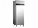 Static Two Door Upright Freezer