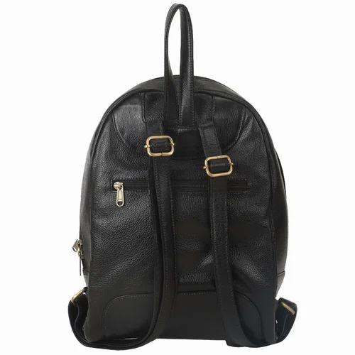 ba244c985b Black Bharat Leather Emporium Leather Travel Bagpack