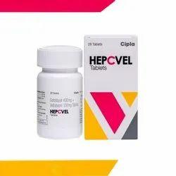 Sofosbuvir And Velpatasvir Tablets, 28 Tablets, Hepcvel