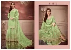 Floral Nagma Fancy Salwar Suits