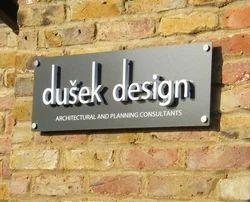 External D Sign Boards