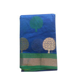 Party Wear Printed Trendy Cotton Saree
