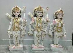 Marble Sita Ram Darbar Statue