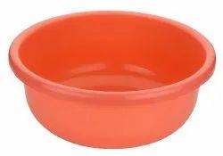 Virgin Plastic Pink And Orange Plastic Tubs, Rs 500 /piece