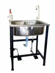 FOOT OPERATED WASH BASIN STAND