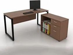AAA steel office table with drawers