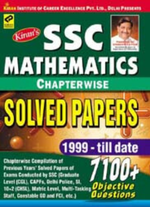 Ssc Mathematics Chapter Wise Solved Papers