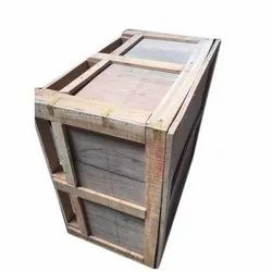 Termite Resistant Rectangle Industrial Plywood Box, Capacity: 201-400 Kg