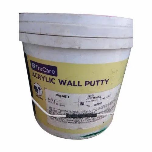 Asian Paint Trucare Acrylic Wall Putty Rs 50 Kg Elite Enterprises Id 22093521533