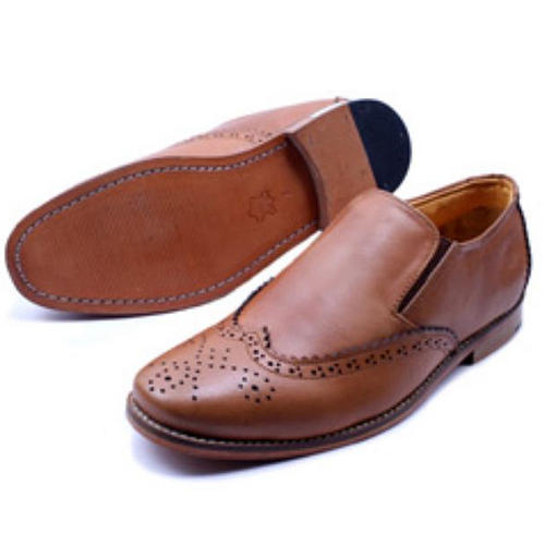616499733f Mens Brown Expensive Leather Shoes at Rs 3999  pair