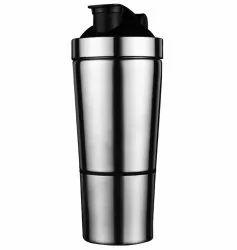Mehar India Silver Stainless Steel Shaker, Capacity: 750 Ml