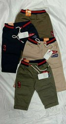 Casual Wear Multicolor Kids Capri, 1yr to 5yrs