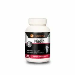 Jyorana Supplements Niacin - 25mg, Promotes heart health