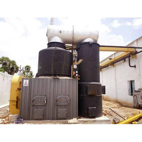 Mild Steel Wood Fired Thermic Fluid Heater, For Industrial