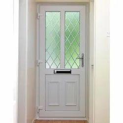 White Rectangular Hinged UPVC Doors