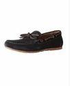 Van Heusen Black Boat Shoes