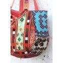 Indian Vintage Women's Banjara Embroidery Patchwork Shoulder Bag